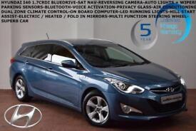 2014 Hyundai i40 1.7CRDi STYLE BLUE DRIVE CRDI-SAT NAV-CAMERA-F+R P/SENSORS-
