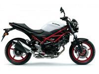 SUZUKI SV650 SV 650 BLACK / WHITE - BRAND NEW - UNREG'D - ZERO MILES!