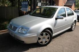 2002 Volkswagen Bora 2.0 SE Silver 4 Door Saloon FSH Low Mileage Family Car