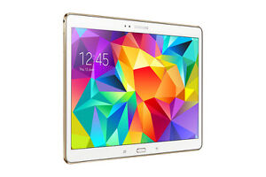 """Samsung Galaxy Tab S 10.5"""" 8-core Android 5.0 Lollipop White"""