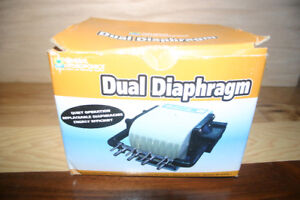 Diaphragm pumps kijiji in north bay buy sell save with general hydroponics dual diaphragm air pump ccuart Choice Image