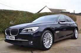 2012 BMW 7 SERIES 3.0 730D SE LUXURY EDITION AUTO SALOON DIESEL