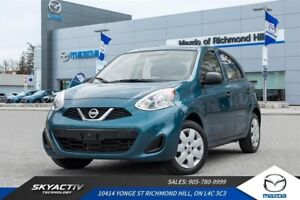 2016 Nissan Micra SV AIR CONDITIONING*LOW KMS*GREAT SHAPE