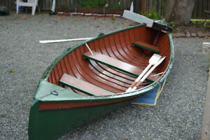 Beautifully Restored Antique 2 Station rowboat