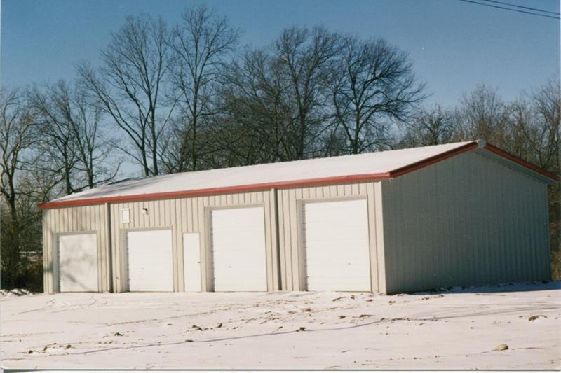 50 x 50 steel garage kit simpson steel building company