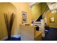 Superb Serviced Offices VAT Exempt with FREE CALLS and FREE WIFI from only £55 p/p/wk 24 Hour Access