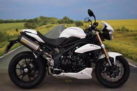 Triumph Speed Triple 1050 **Braided Hoses, Arrow Exhaust, New Tyres**