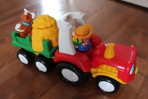 Tracteur musical - Little People Fisher price - 3/4 ans et plus