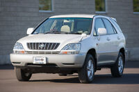 2000 Toyota Harrier - Right Hand Drive - Certified and E-tested