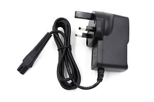 UK AC/DC Charger Power Adapter Lead for Braun Shaver Series 3 340 Series 3 350