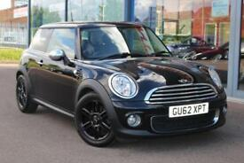 2012 MINI HATCHBACK 1.6 One LOW MILES, 16andquot; ALLOYS, DAB and BLUETOOTH