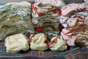 60 CLOTH DIAPERS