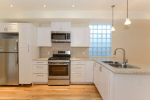 2 bed + office Leslieville Home for Rent