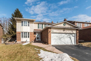 LOVELY 2000+ SQ FT 4 BR HOME IN PRIME WHITBY NEIGHBOURHOOD!