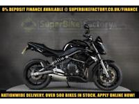 2010 10 KAWASAKI ER-6F C9F 650CC 0% DEPOSIT FINANCE AVAILABLE