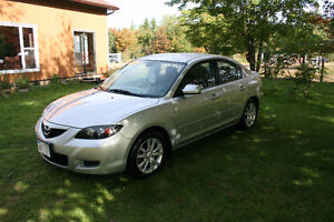 2009 MAZDA 3 , LOADED WHAT A NICE CAR