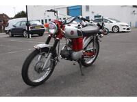 HONDA CD50 NC38, SILVER/RED, IMPORT FROM JAPAN, COOL MOTORCYCLE