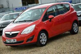 image for 2010 Vauxhall Meriva 1.4 EXCLUSIV 5d 119 BHP + FREE DELIVERY + FREE 3 MONTHS WAR