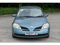 1.8 S 5D 114 BHP AIR CON PETROL HATCHBACK CAR 2003