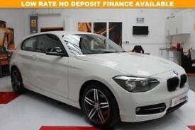 2014 14 BMW 1 SERIES 2.0 116D SPORT PLUS 3D AUTO 114 BHP DIESEL