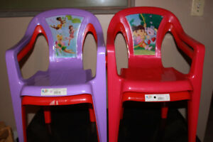 Kids patio chairs