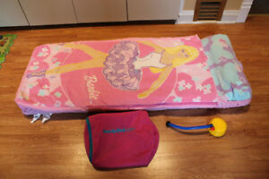 Barbie Ready Bed - Inflatable mattress and sleeping bag