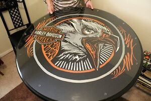 Harley Davidson table and chairs