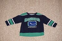 Vancouver Canucks  Hockey Jersey 24 Months
