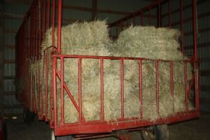 SMALL SQUARE BALES OF HAY AND 4x4 ROUND BALES