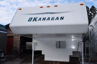 2003 9ft6in OKANAGAN TRUCK  CAMPER WITH SUPER SLIDE