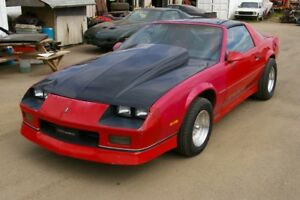 1987 Camaro IROC 350 Auto High Performance T-Top