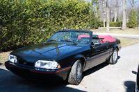 1989 Mustang Convertible 5.0L meilleure offre/ best offer !!!!!!