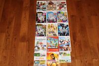 15 Nintendo Wii games, can come with lot or buy individual games