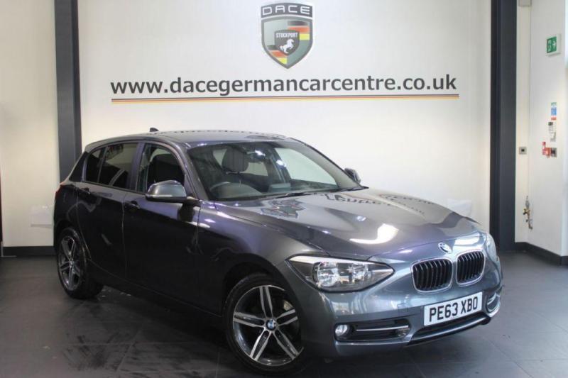 2013 63 BMW 1 SERIES 2.0 116D SPORT DIESEL 5DR DIESEL