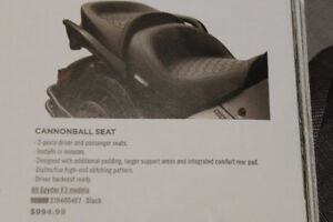 F3 Cannonball Driver and Passenger Seat