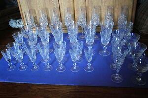 40 Pieces PinWheel Glasses (VIEW OTHER ADS) Kitchener / Waterloo Kitchener Area image 9