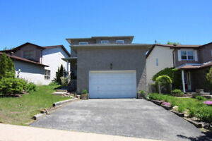 Central location 3+1 finished basement detached immediately poss