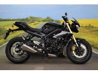 Triumph Street Triple **ABS, Bar End Mirrors, Low Mileage**