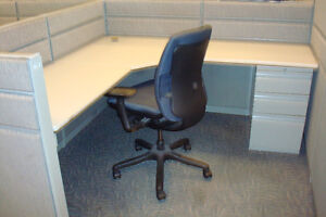 """CUBICLES, WORKSTATIONS, TEKNION TOS 42"""" HIGH ONLY $499.99"""