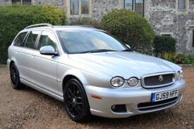 Jaguar X-TYPE 2.2D auto 2009 Sovereign, 96K MILES, FULL S/HISTORY, NEW MOT