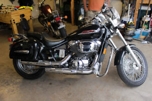 2001 Honda 750 Shadow Spirit - Newly Inspected, low kms