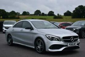 image for 2018 Mercedes-Benz CLA CLASS 1.6 CLA180 AMG Line 7G-DCT (s/s) 4dr Coupe Petrol A