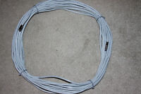 RG6 Coaxial Cable Satellite HD 50 or 100ft  Gray or white