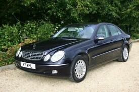One in a Million AUTOMATIC Mercedes E240 with FULL SERVICE HISTORY only 108541
