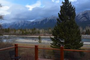 4 Bedroom House in Canmore on Bow River for Seasonal Rental