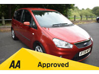 Ford C-Max 2.0I ZETEC - 6 MONTHS WARRANTY (red) 2008