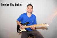 Step by Step Guitar Lesson's