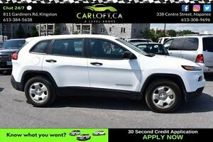 2015 Jeep Cherokee SPORT 4X4-BLUETOOTH*CRUISE*LOW KM