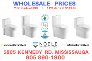 Toilets Wholesale Deals in Mississauga and GTA
