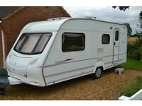 Swift Ace globetrotter 4 berth touring caravan 2007
